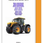 JCB Fastrac 4000 Series Tier 4 Service Manual