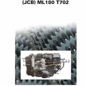 JCB AGCO OEM Transmission ML180 T702 Manual