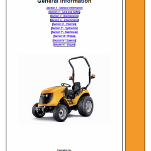 JCB 323, 327 HST Tractor Service Manual