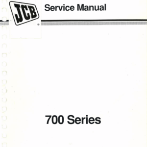 JCB 700 Series Articulated Dump Truck Service Manual