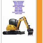 JCB 8055, 8065 Midi Excavator Service Manual