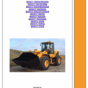 JCB 446, 456 Wheeled Loader Shovel Service Manual