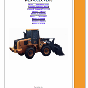 JCB 430ZX Plus Wheeled Loader Shovel Service Manual