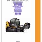 Jcb 160, 170, 180t Robot Skidsteer Loader Robot Service Manual