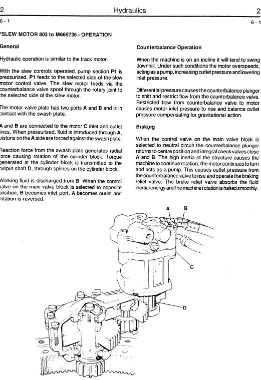 JCB 802.7, 803, 804 Mini Excavator Service Manual