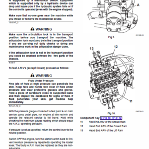 JCB TM180, TM220 Wheeled Loader Service Manual