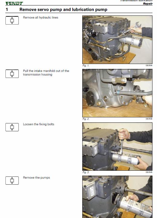 JCB AGCO OEM Transmission ML180 T702 Manual