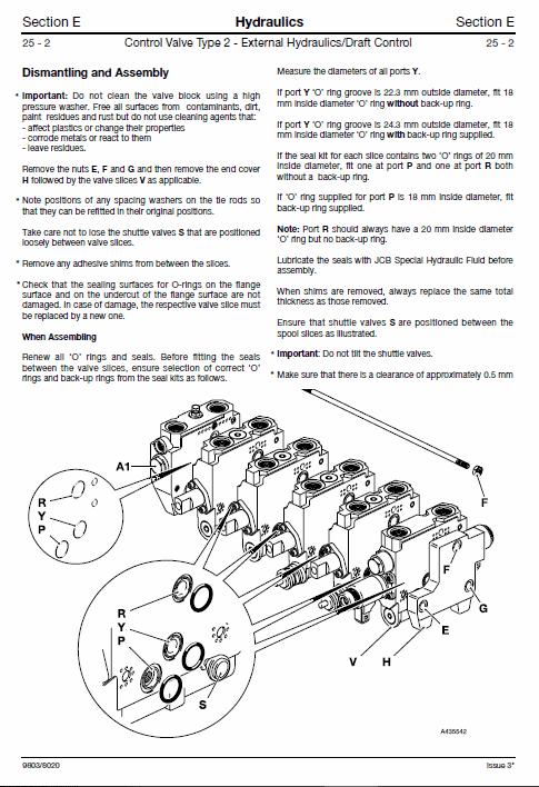 JCB 2115, 2125, 2135, 2140, 2150, 3155, 3185 Fastrac Service Manual