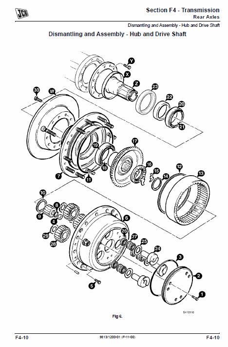 JCB 3200, 3230 Tier 4 Fastrac Service Manual