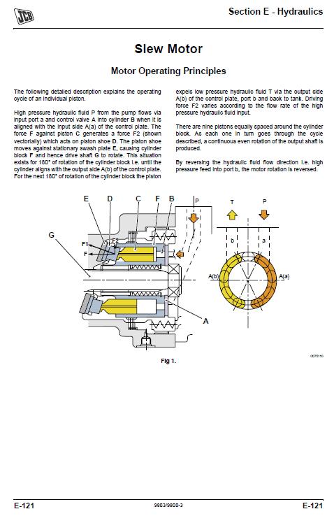 Jcb Js290 Tier 3 Auto Tracked Excavator Service Manual