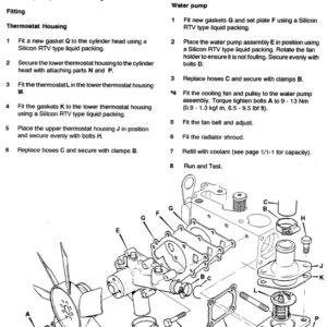 JCB 802.7, 803, 804 Mini Excavator Service Manual