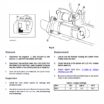 Jcb 926 930 940, B Rtfl Rough Terrain Fork Lift Service Manual