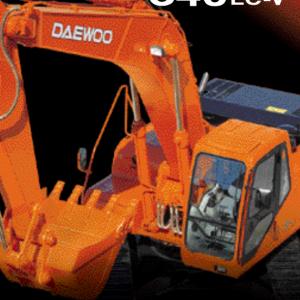 Doosan Daewoo Solar S340lc-v Excavator Service Manual