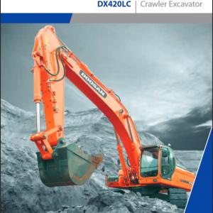 Doosan Daewoo DX402LC Excavator Service Manual