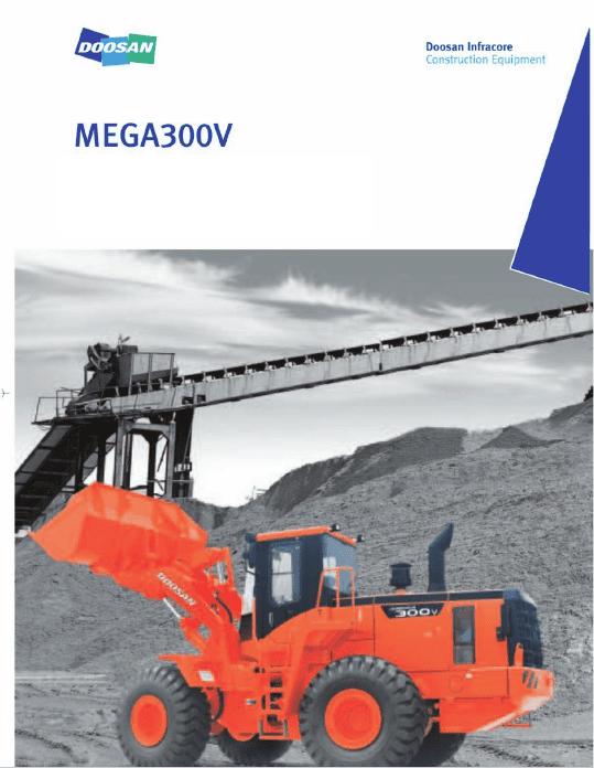 Daewoo Mega M300-V Loader Service Manual