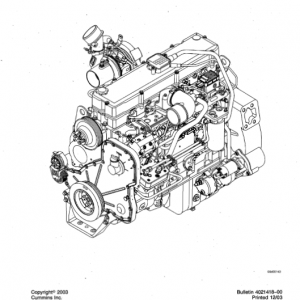 Cummins Isc, Qsc8.3, Isl And Qsl9 Engines Shop Service Manual