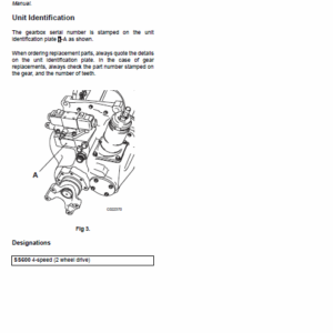 Jcb 526, 526s, 528-70, 528s Loadall Service Manual