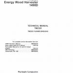 John Deere 1490d Harvester Service Manual Tm-2238
