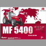 Massey Ferguson 5425, 5435, 5445, 5460, 5465, 5470, 5475, 5480 Tractors Workshop Manual