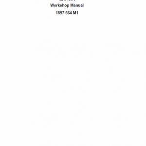 Massey Ferguson 3425f, 3435f, 3445f, 3455f Tractor Service Manual