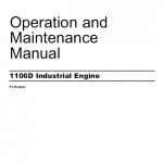 Perkins Engines 1106D Series Workshop Repair Service ManualPerkins Engines 1106D Series Workshop Repair Service Manual