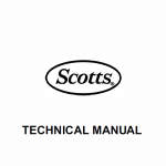 John Deere S1642, S1742, S2046, S2546 Scotts Tractor Manual Tm-1776