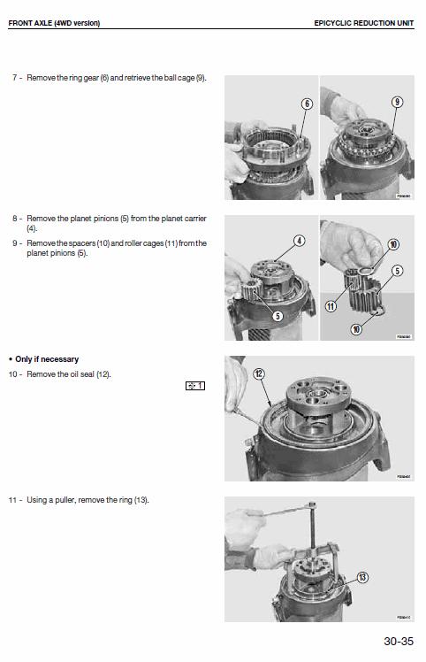 Massey Ferguson 3425-sv, 3435-sv, 3445-sv, 3455-sv Tractor Service Manual