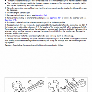 Perkins Engines 1000 Series Workshop Repair Service Manual