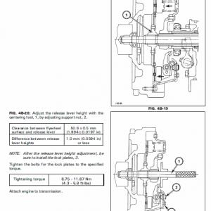 Massey Ferguson 1125, 1140, 1145, 1240, 1250, 1260 Tractors Workshop Manual