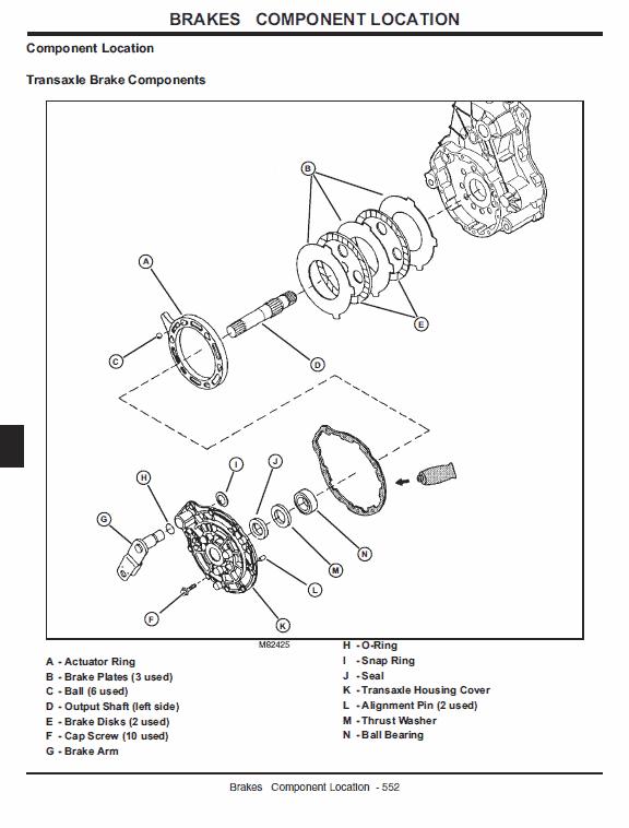 John Deere Gator 4×2 And 4×6 Service Manual