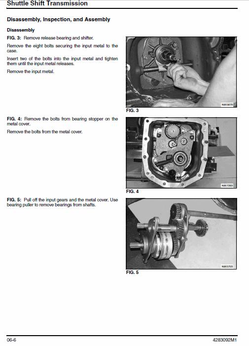 Massey Ferguson 1529, 1532 Tractors Service Workshop Manual