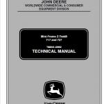 John Deere 717, 727 Ztrak Technical Service Manual