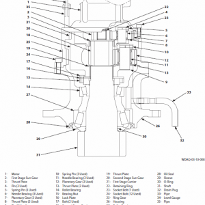 Hitachi Zx135us-6 Excavator Service Manual