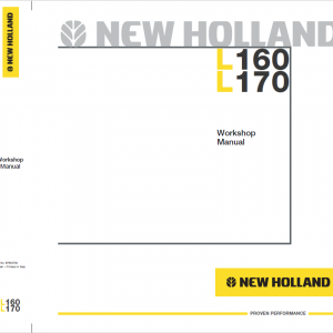 New Holland L160 and L170 SkidSteer Service Manual