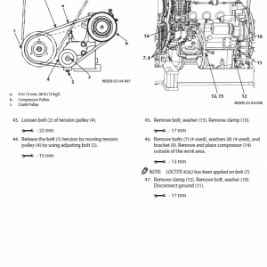 Hitachi Zx85usb-5a Excavator Service Manual