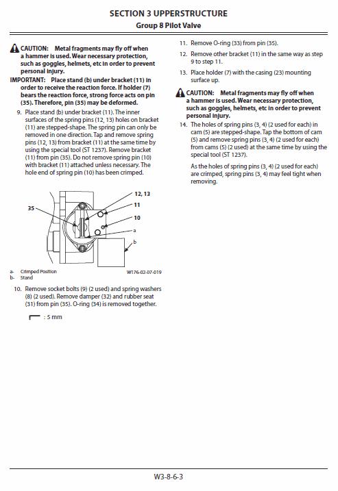 Hitachi Zx68usr-5a Excavator Service Manual