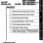 Kobelco Sk115sr And Sk135sr Excavator Service Manual