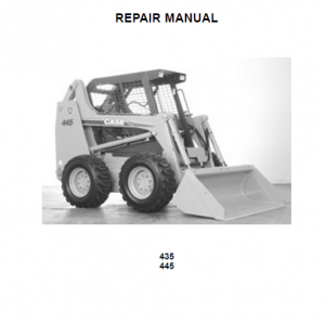 Case 435 And 445 Skidsteer Loader Service Manual