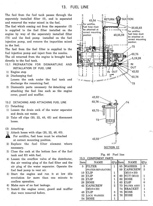 Kobelco Sk310 And Sk310lc Excavator Service Manual