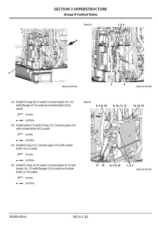 Hitachi Zx170w-5a And Zx170w-5b Excavator Service Manual