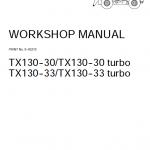 Case TX130-30 and TX130-33 Telescopic Handler Service Manual