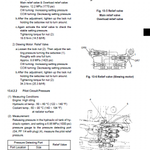 Case Cx31b And Cx36b Excavator Service Manual