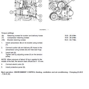 Case Cx75sr And Cx80 Excavator Service Manual