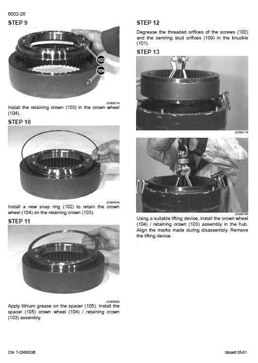 Case Cx160 Excavator Service Manual