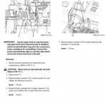 Hitachi Zx470-5a, Zx490lch-5a And Zx530lch-5a Excavator Manual