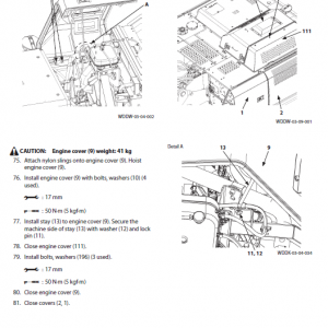 Hitachi Zx300-5a, Zx300lc-5a And Zx300lch-5a Zaxis Excavator Manual