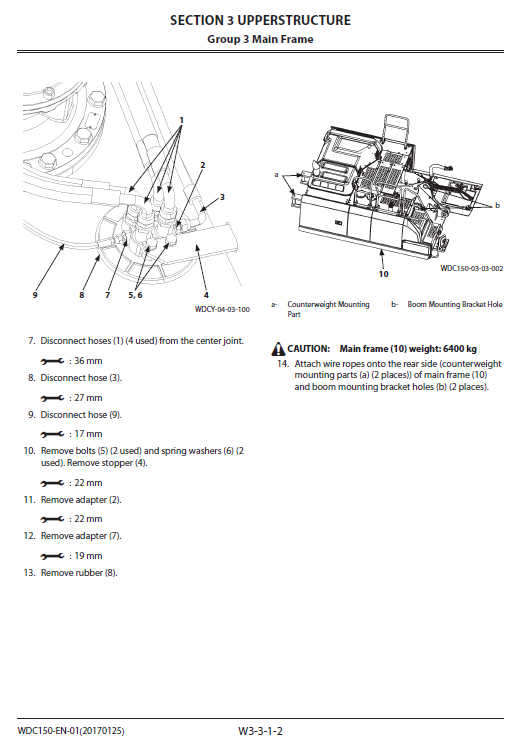 Hitachi Zx250lc-6 And Zx250lcn-6 Zaxis Excavator Manual