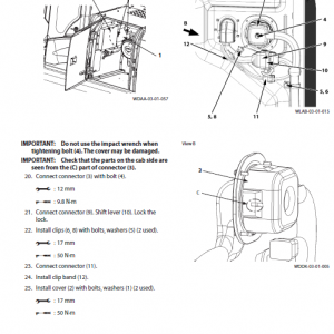 Hitachi Zx210w-5a Zaxis Excavator Manual