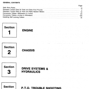 Cub Cadet 1050, 1204, 1210 And 1211 Service Manual