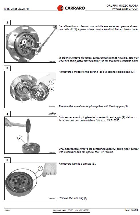 Case 21d, 121d, 221d And 321d Wheel Loader Service Manual